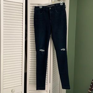 American Eagle Super Stretch Hi-Rise Jeggings